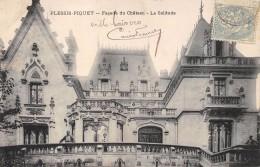 CPA 92   PLESSIS PIQUET FACADE DU CHATEAU LA SOLITUDE 1905 - Le Plessis Robinson