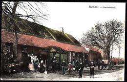 ACHEL HAMONT  - HOEFSMEDERIJ - Zeldzame In Kleur !! Met Enkelcirkel HAMONT 1907- Maréchal Ferrant - Blacksmith - België
