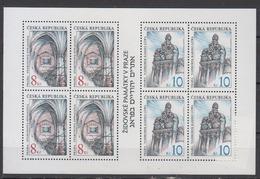 TCHEQUIE   1997        N.  139 / 140       COTE  8 ,00  EUROS - Hojas Bloque
