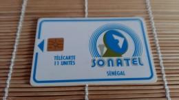 Phonecard Senegal Used Rare