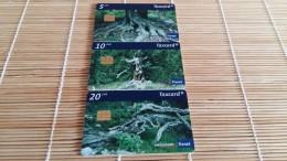 Set 3 Cards Zwitserland Rare - Switzerland