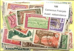 100 Timbres Cameroun Francais Avant Independance