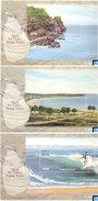 Sri Lanka Stamps 2010, Visit Sri Lanka Series, Beaches, Surfing, Palm Trees, MSs - Other