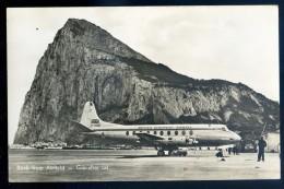 Cpsm  De Gibraltar -- Rock From  Airfield    JIP42 - Gibraltar