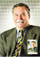 Australia 2012 Maxicard Scott #3626 60c Ron Barassi Athletes Australian Legends First Day Issue - Cartoline Maximum