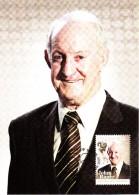 Australia 2012 Maxicard Scott #3628 60c John Raper Athletes Australian Legends First Day Issue - Cartoline Maximum
