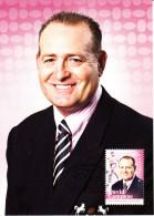 Australia 2012 Maxicard Scott #3630 60c David Campese Athletes Australian Legends First Day Issue - Cartoline Maximum