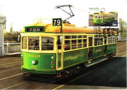 Australia 2012 Maxicard Scott #3655 60c St. Kilda Electric Tram, Melbourne City Transport First Day Issue - Cartes-Maximum (CM)