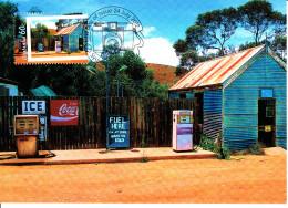 Australia 2012 Maxicard Scott #3738 60c 'Fuel Ask At The Store Across The Road' Photographs Of Life In Australia Firs... - Cartoline Maximum