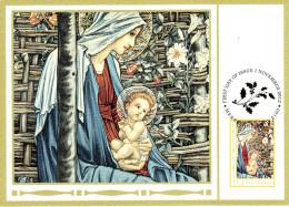 Australia 2012 Maxicard Scott #3806 55c Detail Of Madonna And Child Christmas First Day Issue - Maximumkarten (MC)
