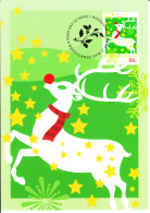 Australia 2012 Maxicard Scott #3807 55c Reindeer Christmas First Day Issue - Maximumkarten (MC)