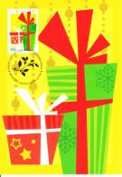Australia 2012 Maxicard Scott #3808 55c Presents Christmas First Day Issue - Maximumkarten (MC)