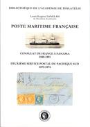 Langlais, Louis - Poste Maritime Française : Deuxième Service Postal Du Pacifique Sud - Consulat De France à Panama - Unclassified