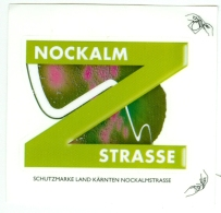 Österreich Kärnten Nockalm Strasse Label Mautpflichtige Srasse - Souvenirs