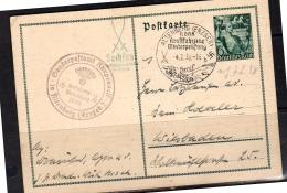 1938 P267 Fäckeltrager Sonderpostambt Rausennest In Altenberg  > Dessau (304) - Deutschland