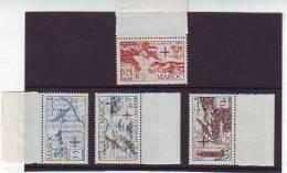 MAROC . POSTE AERIENNE .  N: 75 à 78  . TIMBRES NEUFS SANS CHARNIERE LUXE MNH** . - Marruecos (1891-1956)
