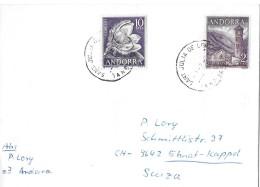SANT JULIA DE LORIA - EBNAT-KAPPEL→ Schöner Brief Mit Buntfrankatur - Lettres & Documents