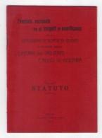 Comitato Nazionale Fra Gli Insigniti Di Onorificenze Per La Istituzione Di Borse Di Studio. Statuto. - Livres, BD, Revues