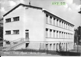 Lazio-roma Citta' Torre Maura Veduta Scuola Comunale Quartiere Torre Maura Anni/60 - Education, Schools And Universities