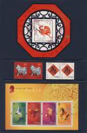 Canada China Hongkong 2002 ** Year Of The Horse - Chinese New Year / Jahr Des Pferdes - Chinesisches Neujahr - Chinees Nieuwjaar