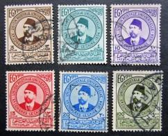 B1197 - Egypt - 1934 - Mich 179-180-182-183-185-187 - Egypt