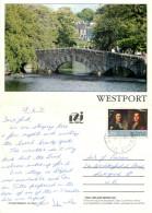 The Mall, Westport, Mayo, Ireland Postcard Posted 1991 Stamp - Mayo