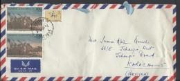 Turkey Airmail 1972 General Battle 100 Kuruş, Ataturk Statue. Ethnographic Museum, Ankara Postal History Cover - Brieven En Documenten