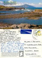 Achill Island, Mayo, Ireland Postcard Posted 1997 Stamp - Mayo