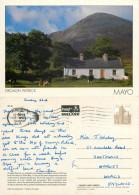 Croagh Patrick, Mayo, Ireland Postcard Posted 1989 Stamp - Mayo