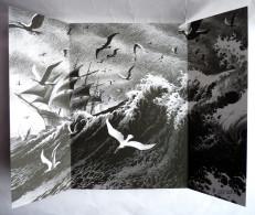 EX LIBRIS Tryptique - RIFF REB'S CARTE DEPLIANT A BORD DE L'ETOILE MATUTINE XL - Illustratori P - R