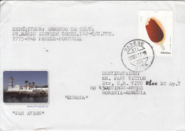 51578- ICECREAM, POPSICLE, STAMPS ON COVER, 2009, PORTUGAL - 1910-... República