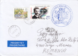 51586- FARMHOUSE, JAN SZCZEPANIK, STAMPS ON COVER, 2012, POLAND - 1944-.... Republic