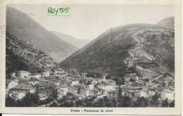Marche-macerata-visso Veduta Panorama Da Ovest Visso Primi 900 - Andere Städte