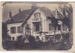 25 Colombier Fontaine Carte Photo Maison Bourgeoise Datée 1924. Tb état. - France