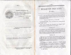 1839 Ordonnances Du Roi Chemins De Fer De Paris à La Mer Paris Versailles Paris Orléans Bordeaux-la Teste - Décrets & Lois
