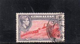 GIBRALTAR 1938-47 O DENT 13 - Gibraltar