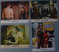 """Lot De 4 Photos D'exploitation : """"Un Sherif à New-York"""" Avec Clint EASTWOOD - 1968. - Photos"""