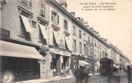 ¤¤  -  231   -  TOURS  -  Rue Nationale  -  Agence Du Crédit Lyonnais Et Maison Où Est Né Balzac  -  Banque   -  ¤¤ - Tours