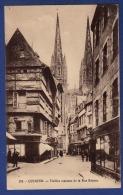 29 QUIMPER Vieilles Maisons De La Rue Kéréon ; Cathédrale, Commerces - Animée - Quimper