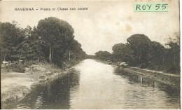 Emilia Romagna-ravenna Veduta Panoramica Pineta Di Classe Con Canale - Ravenna