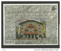 ANDORRA ESPAÑOL  Architecture De Granit (Hotel Rosaleda.Encamp) Un B-F Neuf. 2015. Haute Faciale - Nuovi