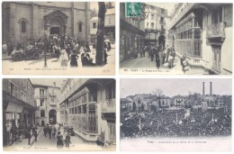 4 CPa Vichy : Inauguration Statue, église, Passage Poste, .. ((S.750)) - Vichy