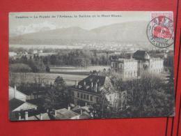 Genève / Genf - Le Musee De L´Ariana, Le Saleve Et Le Mont-Blanc - GE Genf