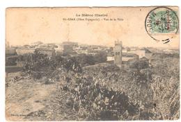 POSTAL   EL KSAR (ZONA ESPAÑOLA) MARRUECOS  - VISTA DE LA CIUDAD  (LE MAROC ILLUSTREE) - Marrakech