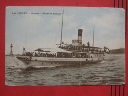 "Genève / Genf - Lac Léman: Bateau ""General Dufour"" - GE Ginevra"