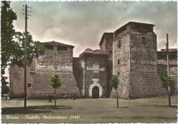 T172 Rimini - Castello Malatestiano - Chateau Castle Schloss Castillo / Viaggiata 1955 - Rimini