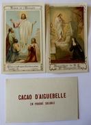 73 - Abbaye Notre Dame D' Aiguebelle - Cacao D' Aiguebelle - 3 Carte : Scènes De L' Evangile - Publicités