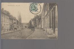 Cpa , Saint Ghislain Rue D' Ath ,    Voyagé - Saint-Ghislain