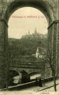 PUBLICITE CHAMPAGNE E MERCIER CIE  VUE PRISE DE LA PROMENADE AU FORT THUNGEN   LUXEMBOURG  LUXEMBURG LUZEMBURGO - Luxemburgo - Ciudad