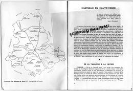 87 - CHATEAUX EN HAUTE VIENNE- ALBERT ROULHAC-BRIE-CHALUS-MONTBRUN BALLERAND-FROMENTAL-LA COTE-LA COSSE-THOURON - Limousin